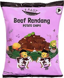 F.EAST Beef Rendang Potato Chips, 70g