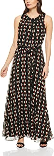 Calvin Klein Women's Short Sleeve Maxi with Tie Waist
