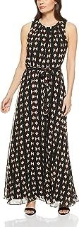 Calvin Klein Women's Short Sleeve Maxi with Tie Waist