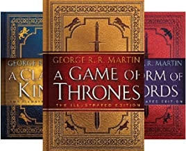 A Song of Ice and Fire Illustrated Edition (3 Book Series)
