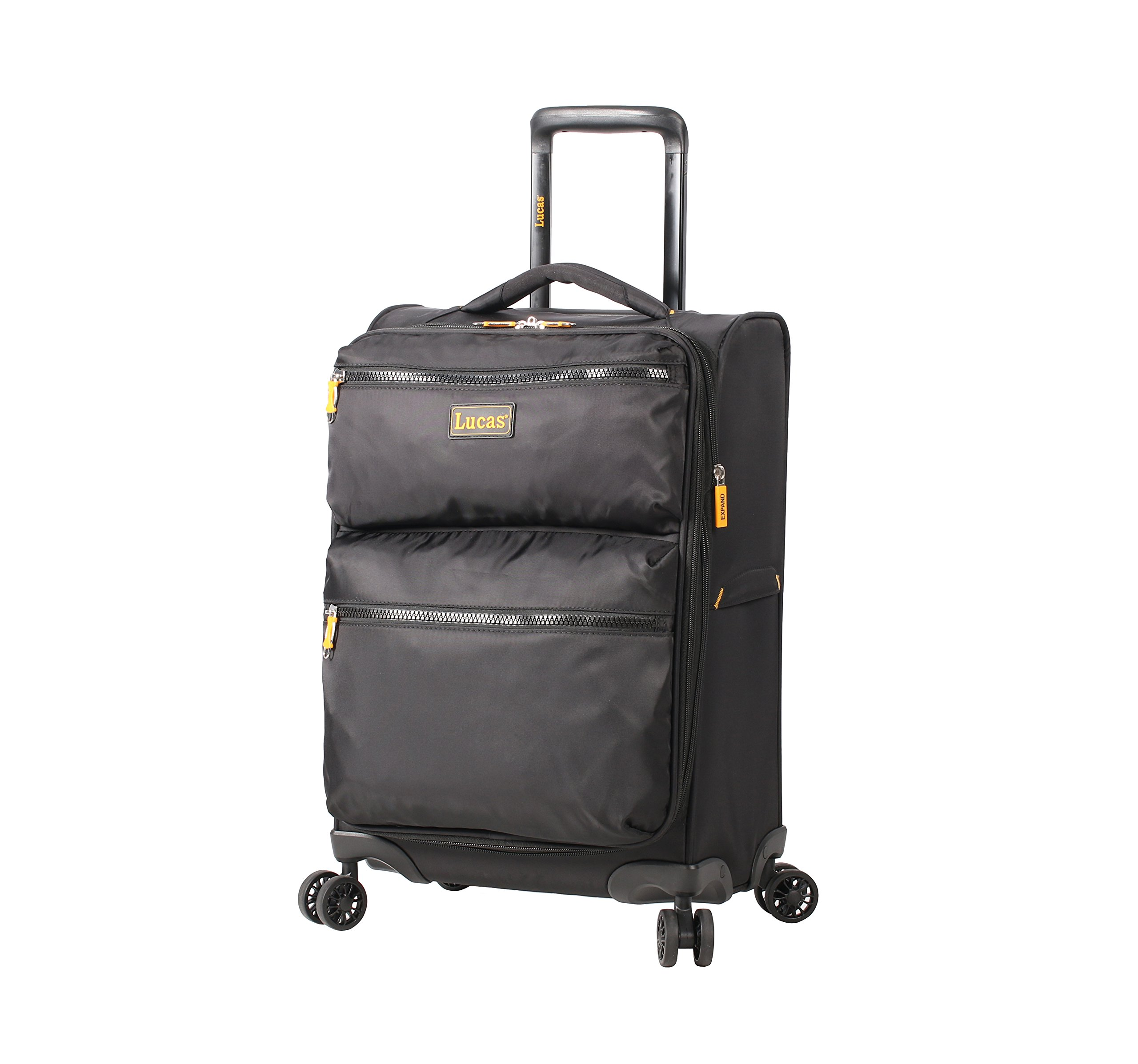 Lightweight Softside Expandable Luggage Spinner