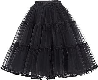 Belle Poque Women Luxury 50s Petticoat Tutu Half Slip Crinoline Underskirt