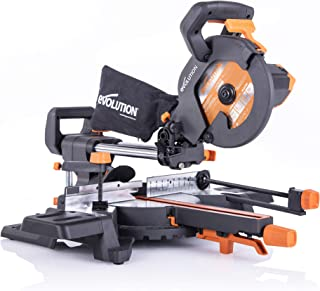 Evolution Power Tools R210SMS-300+ Troncatrice Radiale Scorrevole Multi-Materiale 210 mm con Pacchetto Plus, 230 V