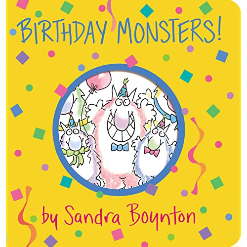 Birthday Monsters! (Boynton on Board)