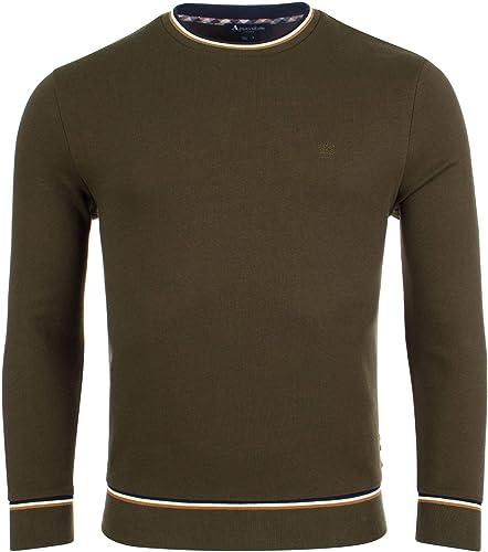 Aquascutum - Sweat-Shirt - Manches Longues - Homme Vert Vert Militaire