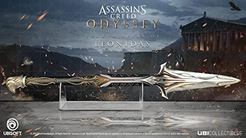 ASSASSIN'S CREED ODYSSEY- Spear Replica 'Officiel Ubisoft'   Figurine , ML