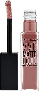 Maybelline New York Color Sensational Vivid Matte Liquid Lipstick, Grey Envy, 0.26 fl. oz.