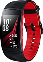 Samsung Gear Fit 2 Pro SmartWatch/Fitnessarmband, 3,81 cm (1,5 inch), 4 GB, 1 GHz, 0,5 GB RAM, tizen, waterdicht, rood