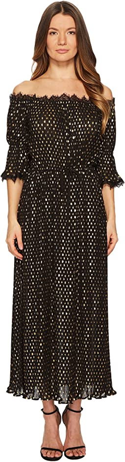 The Kooples - Long Polka-Dot Print Dress