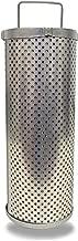 Schroeder 8Z10 Hydraulic Filter Cartridge for ZT, E-Media, Cellulose, Removes Rust, Metallic Debris, Fibers, Dirt; 9.25