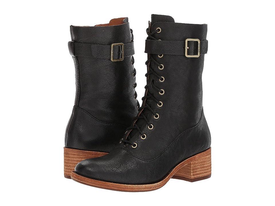 Kork-Ease Mona (Black Full Grain Leather) Women