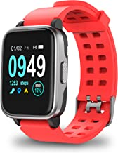 Updated 2019 Version Smart Watch for Android iOS Phone, Activity Fitness Trackers Health Exercise Watches with Heart Rate, Sleep Monitor and Calorie Compatible with Samsung Apple iPhone for Men Women
