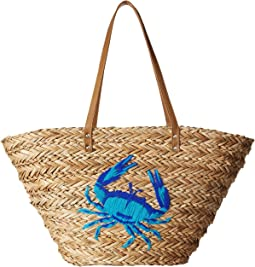 Echo Design Under The Sea Straw Bag