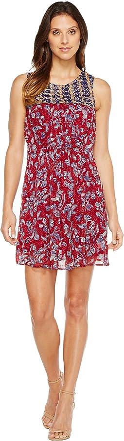 Lucky Brand - Mixed Print Dress
