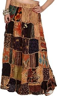 Long Dori Gujarati Skirt Patch Work