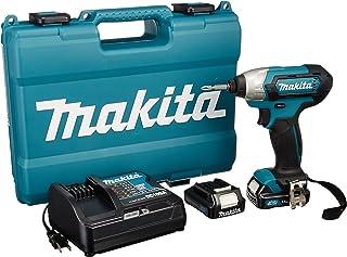 マキタ(Makita)  充電式インパクトドライバ 1.5Ah (バッテリー・充電器・ケース付) TD110DSHX