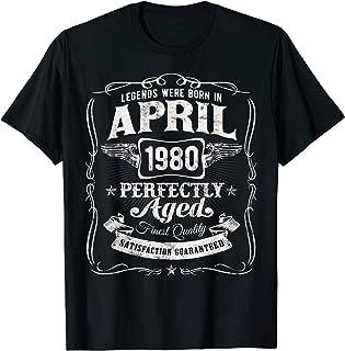 legends born in april shirt
