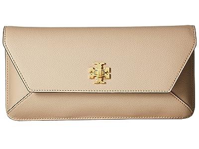Tory Burch Kira Envelope Clutch (Perfect Sand) Clutch Handbags