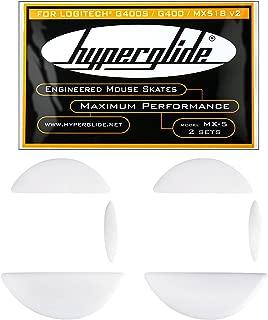 Hyperglide Mouse Skates for Logitech G400S, G400, MX518 Version 2 (MX-5)