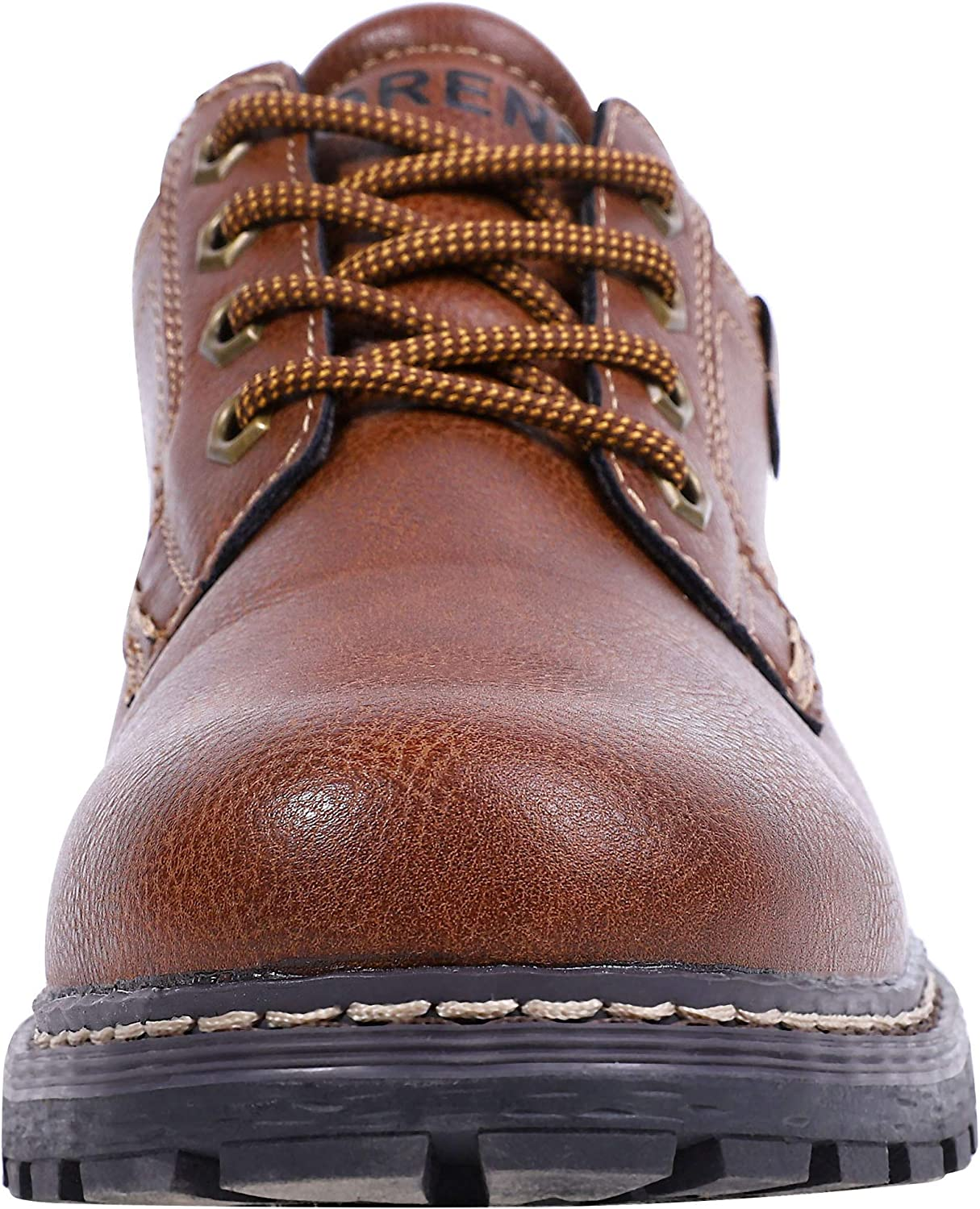 MORENDL Men/'s Business Causal Walk Shoes Oxford Anti-Slip Rugged Outsole All-Weather Comfortable Daily Wear