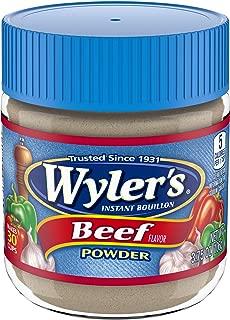 Wyler's Instant Beef Bouillon Powder (3.75 oz Jars, Pack of 4)