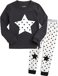 Vaenait Baby 12M-7T Kids Boys Sleepwear Pajama Top Bottom 2 Pieces Set