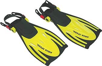 100 /%  silicone, souple, linksfu/ß, produit brevet/é tech2 haute qualit/é Aquaspeed high tech short de natation trainingsflossen