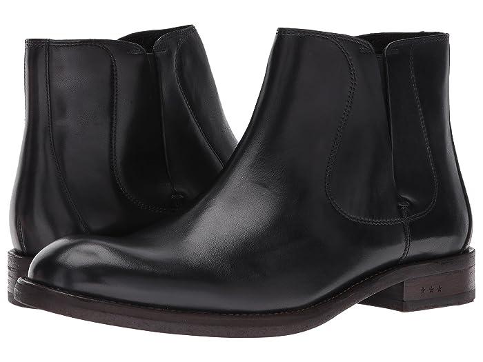 John Varvatos  Waverly Chelsea (Black) Mens Pull-on Boots