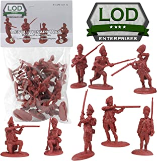 revolutionary war metal toy soldiers