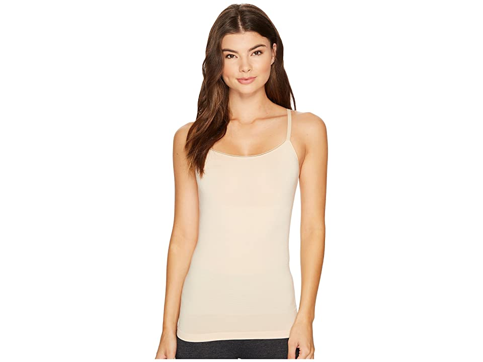 Yummie Seamlessly Shaped Outlast Cami with Convertible Back (Frappe) Women