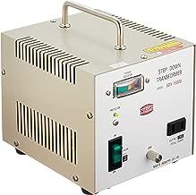 Nissyo 110/120V to 100V 1500W Step Down Voltage Transformer Converter for Jpanese product. SDX-1500U (Japan Model)