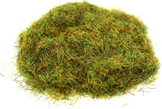 Stonehaven Miniatures Static Grass, Medium Green - 2mm Fibers - Master Quality Base & Scenery Flock - Realistic Texture & Detail - for 28mm Scale Table Top War Game Miniatures - Made in USA