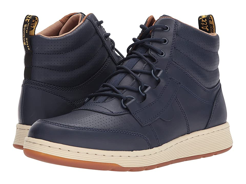 Dr. Martens Derry 6-Eye Chukka Boot (Indigo Temperley/Indigo Webbing) Men