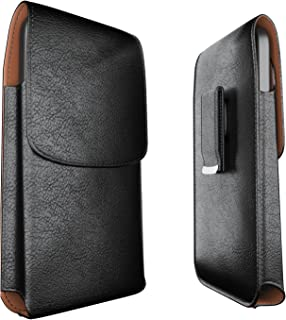Meilib iPhone 11 Pro Max, Xs Max, 8 Plus Belt Holster Case, Cell Phone Belt Case with Belt Clip (Swivel Clip) Pouch Cover Belt Holder for iPhone 11 Pro Max, Xs Max (Fits Phone w/Otterbox Case on)