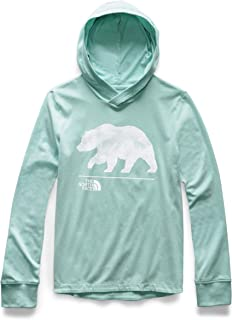 The North Face Girls' Long-Sleeve Cotton Hooded Tee