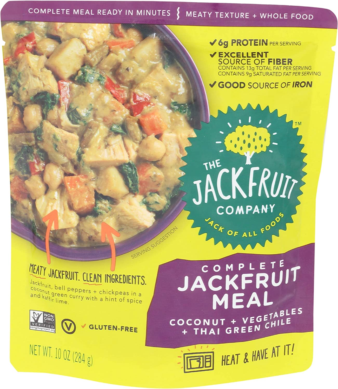 The Genuine Free Shipping Free Shipping New Jackfruit Company Complete Ounce Thai Meal 10