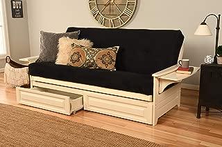 Kodiak Furniture Phoenix Full Futon Set, White