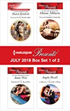 Harlequin Presents July 2018 - Box Set 1 of 2: Crowned for the Sheikh's BabyInherited for the Royal BedTycoon's Forbidden CinderellaA Mistress, A Scandal, A Ring