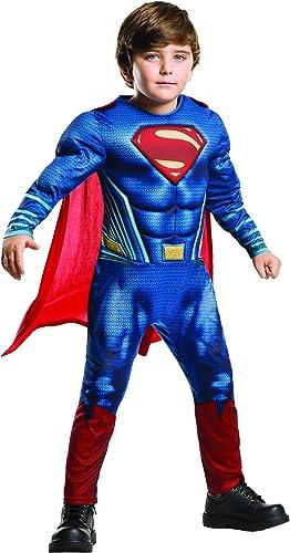 calidad de primera clase Rubies Superman - Disfraz Batman v Superman Superman Superman para Niños, Talla L, edad  7-8 años (Altura 128cm   Cintura 56cm)  solo para ti