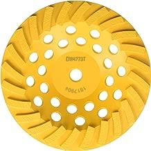 DEWALT Grinding Wheel, Diamond Cup, 7-Inch (DW4773T)