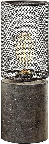 discount Uttermost popular Ledro Charcoal Concrete 2021 Accent Buffet Table Lamp outlet sale