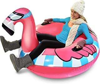 Best inflatable flamingo sled Reviews