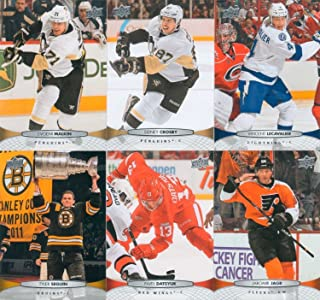 2011 2012 Upper Deck NHL Hockey Series One and Two Complete Mint Basic Hand Collated 400 Card Veteran Players Set Including Alex Ovechkin Sidney Crosby and More