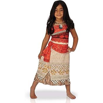Disfraz de Vaiana clásico niño 5-6 años (110/116): Amazon.es ...