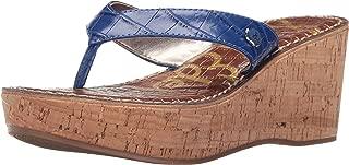 Women's Romy Nautical Blue/Shiny Nile Croco Wedge