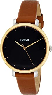 Fossil Womens Analogue Quartz Watch with Leather Strap ES4378