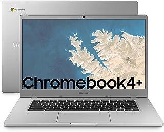 "SAMSUNG Chromebook 4+, Computer Portatile XE350XBAI Chrome OS, Display Screen 15.6"" Full HD LED, Batteria 39Wh, RAM 4GB, M..."