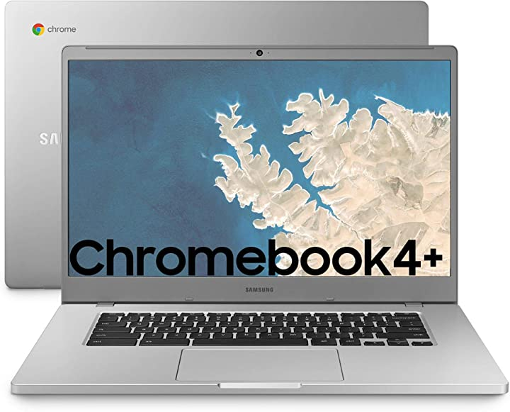 Computer portatile samsung chromebook 4+ xe350xbai chrome os processore celeron n4000 ram 4 gb lpddr4 B08HGRGYLR