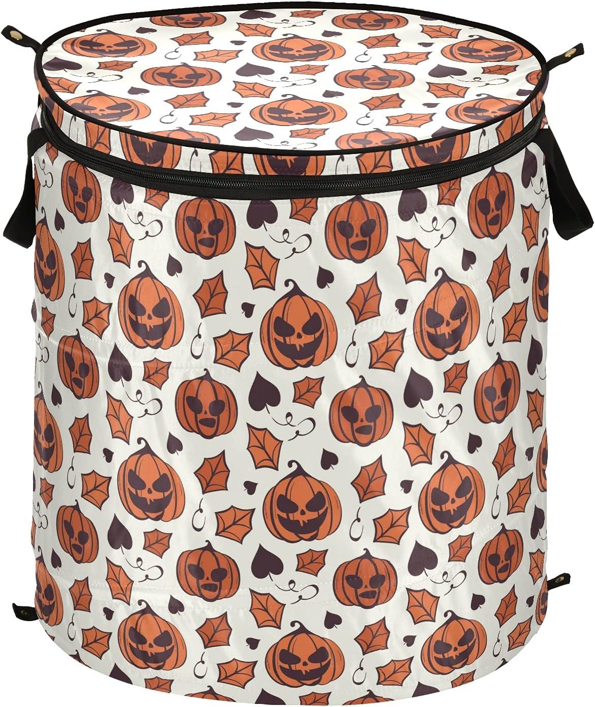 Pumkin Sales results No. 1 Leaf Happy Halloween Pop Up Folda with Tulsa Mall Laundry Lid Hamper