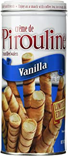 Creme De Pirouline Vanilla Cream-filled Wafers Limited Edition 3.25 Oz (2 Tin Pack)